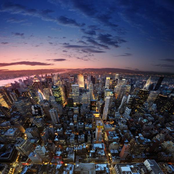 Imagen de Nueva York desde el aire