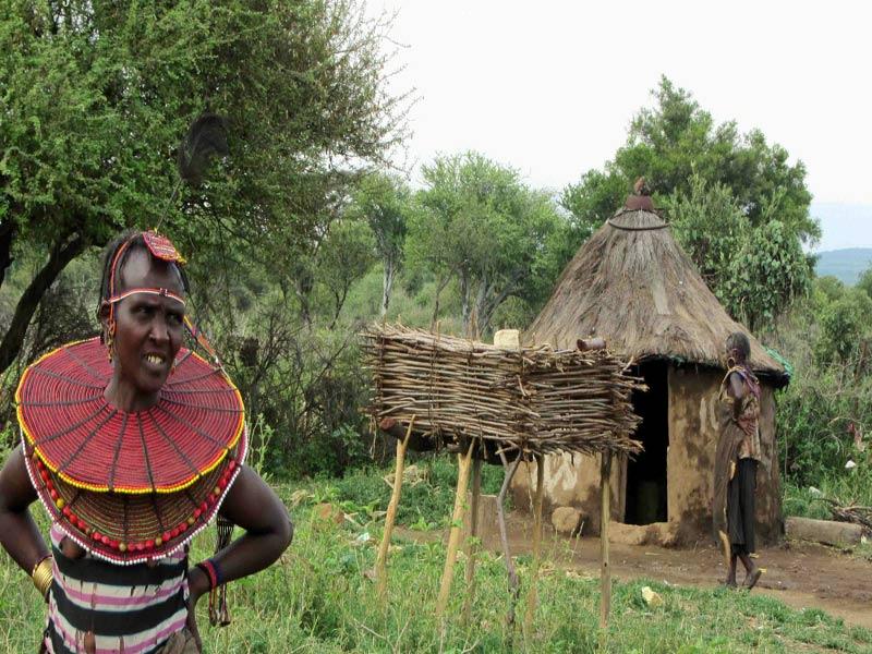 Poblado visita poblado Masai