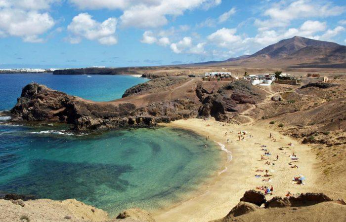 Viajes singles en Lanzarote 2019 - Playa Papagayo