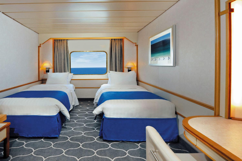 Crucero Islas Griegas Pullmantur Camarote exterior