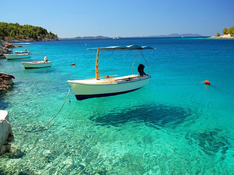 Un baño en el Mar Adriático