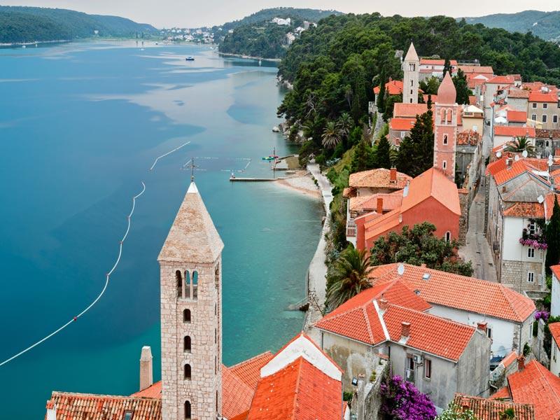 Viajando en grupo singles por Croacia