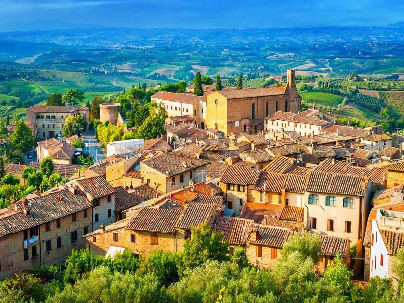 Viaje en Grupos y Singles en La Toscana Italiana