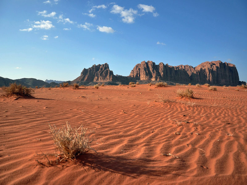 Vacaciones para Singles en Jordania. Wadi Rum