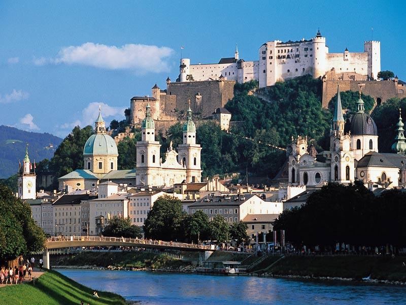 Viaje Singles visitando Salzburgo