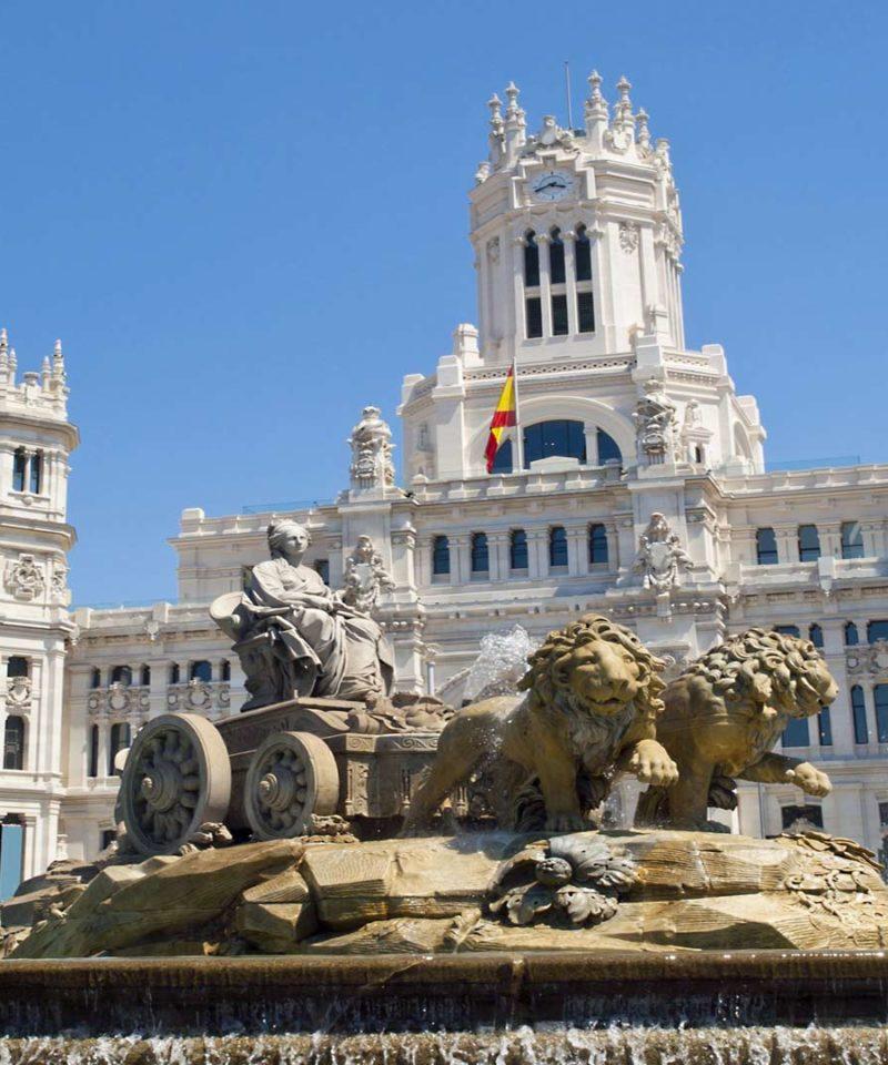Fin de semana en Madrid-Visitando la Cibeles