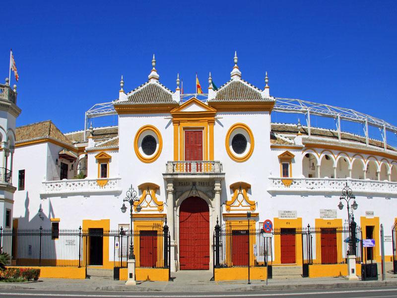 Vacaciones singles en Sevilla. Plaza de Toros