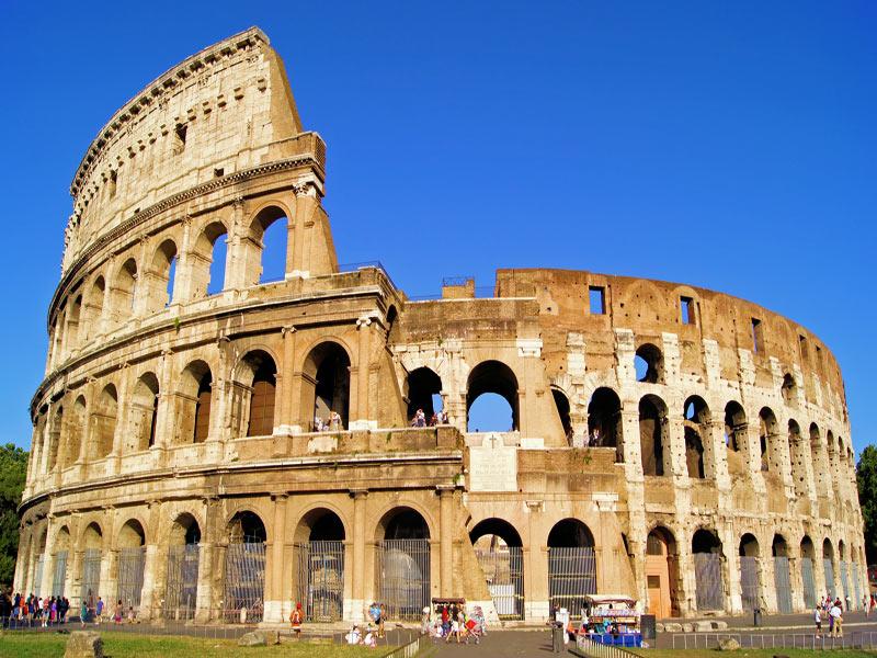 Visitando el colisio Romano