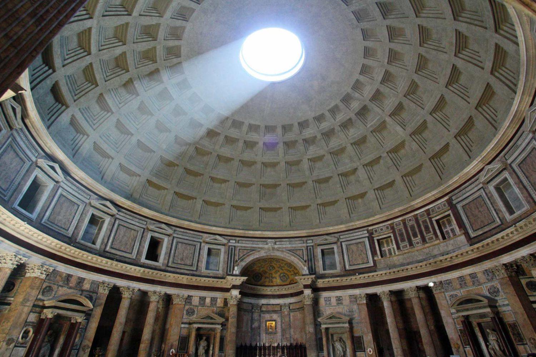 Visitando Roma El panteon de agri