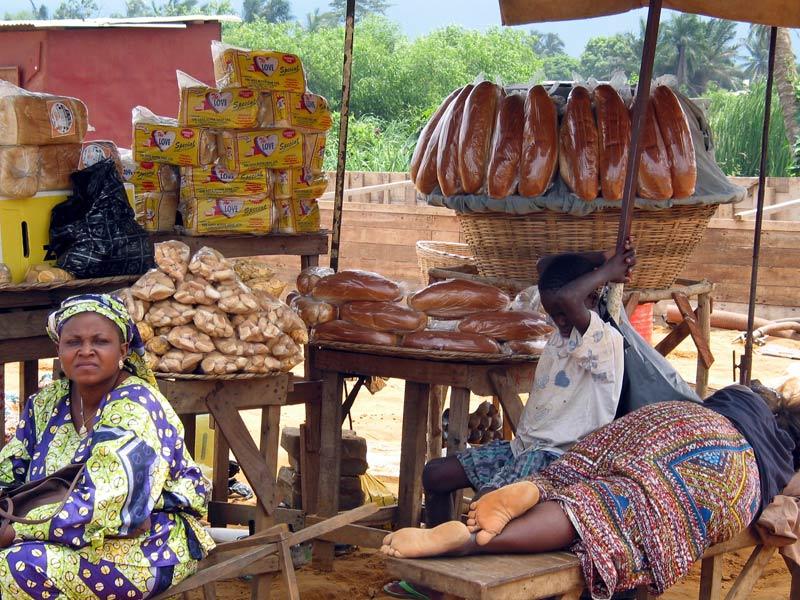 Visitando la capital Cotonou