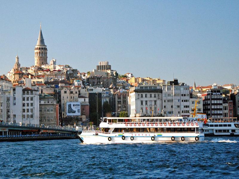 Viaje en Barco por el Bósforo-Estambul