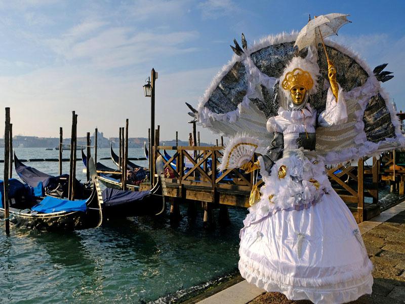 viaje organizado al carnaval de Venecia