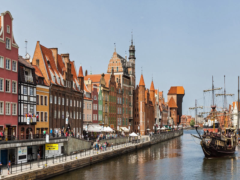 Gdansk, ciudad portuaria más grande de Polonia
