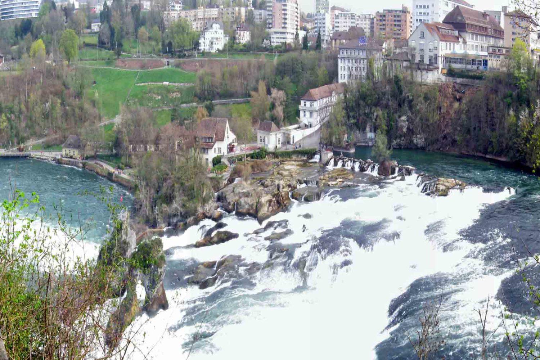 Imagen de las Cataratas del Rin