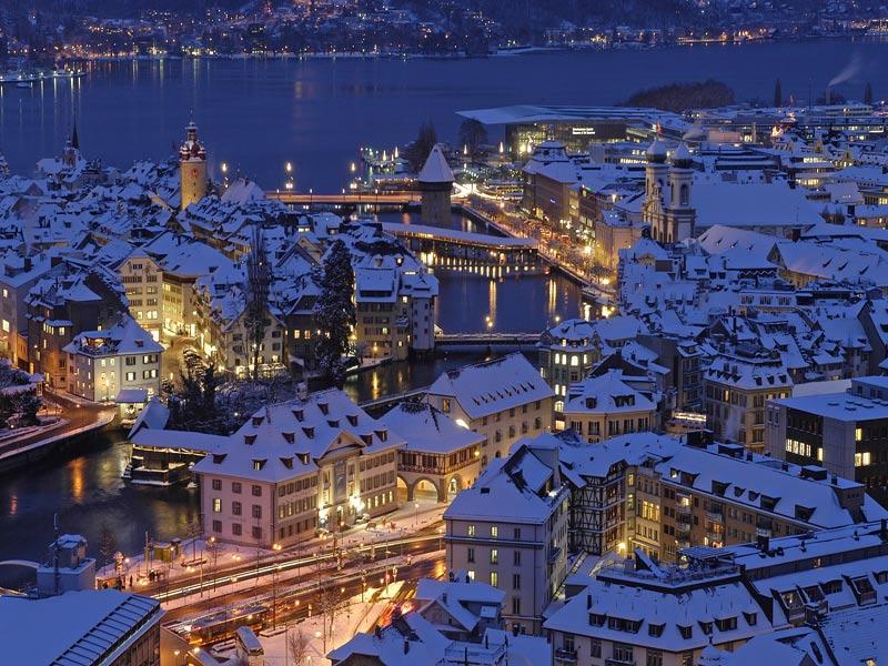 Visitando Lucerna, una hermosa ciudad a orillas del lago