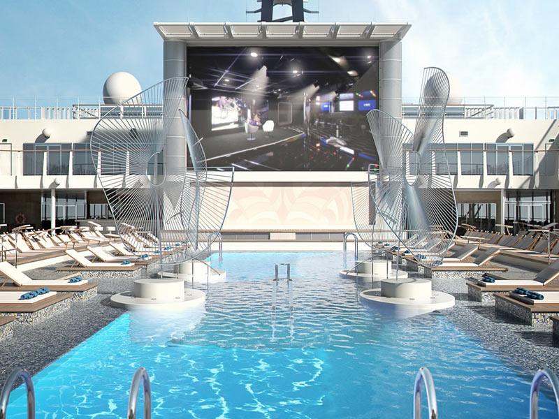 Crucero exclusivo nuevo barco MSC superlujo