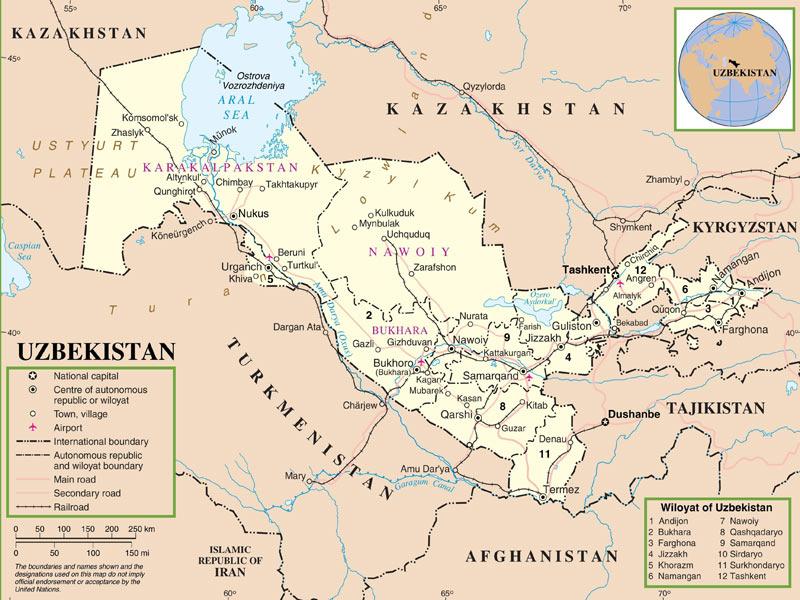 Viaje Uzbekistán- la ruta de la seda