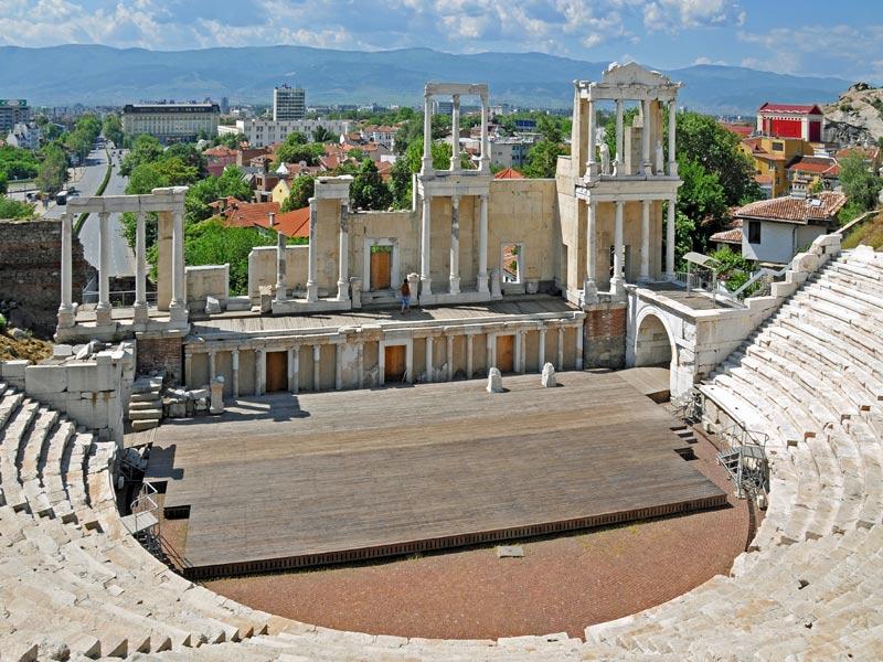 Visitando Plovdiv en grupo