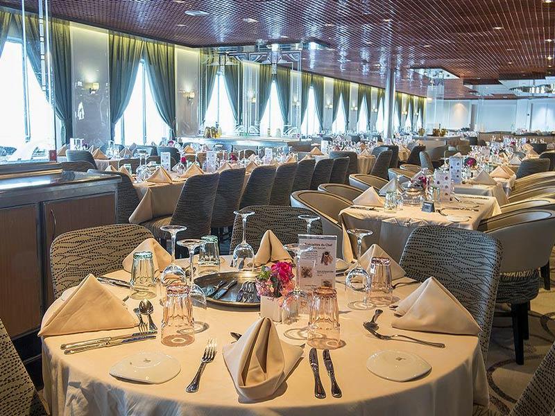 Crucero Pullmantur restaurant del Zenith