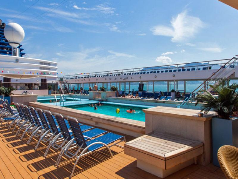 Pullmantur Crucero Zenith piscina