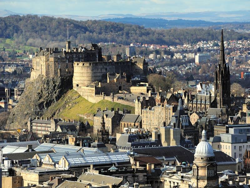 Visitando Edimburgo y su Castillo