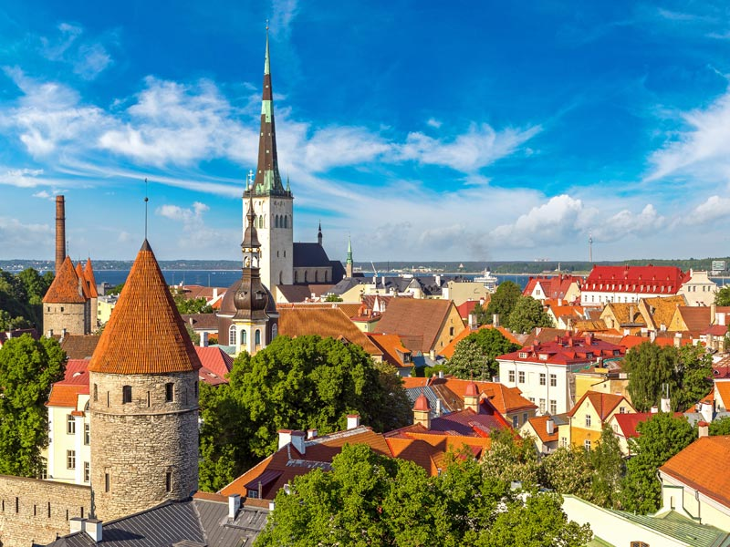 Visitando Tallin capital de Estonia