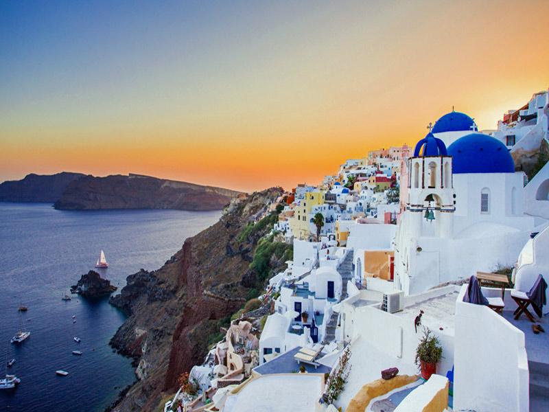 Crucero Islas Griegas visitando Santorini