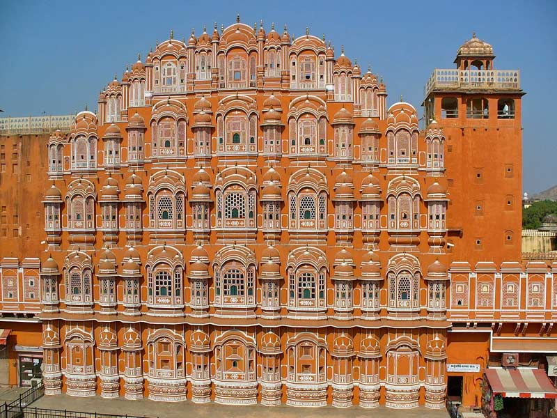 India Jaipr,Hawa Mahal
