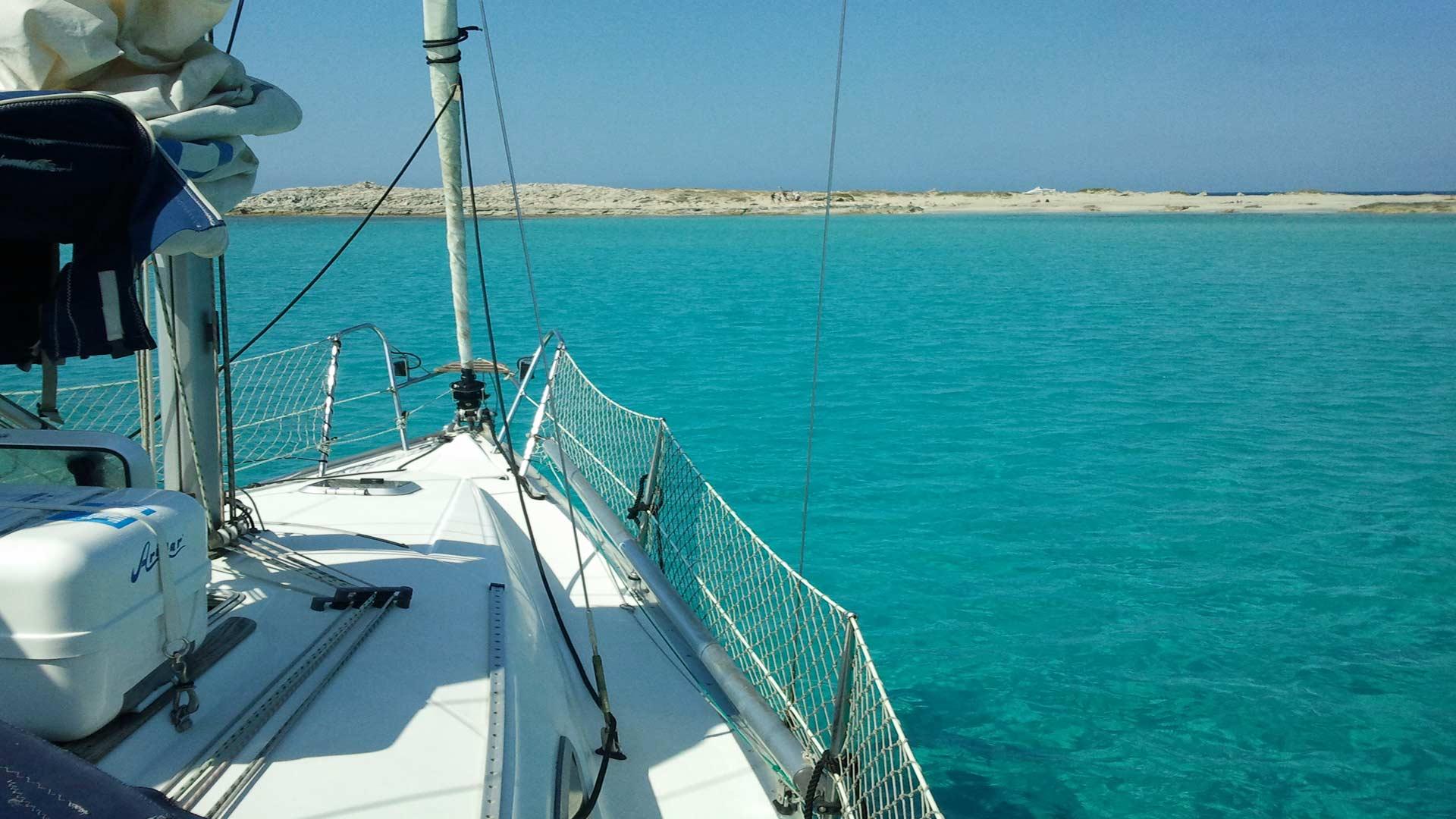 Viaje en Velero por Ibiza y Formentera