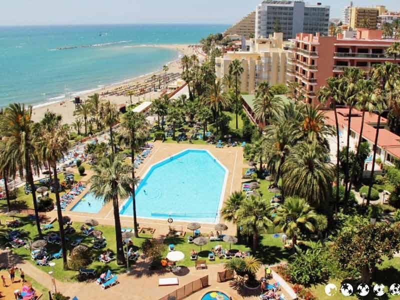 Malaga-Benalmadena Vista desde el Hotel Triton
