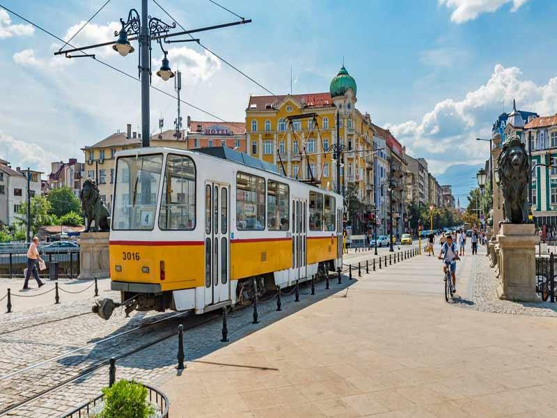 Bulgaria-Sofia-Tranvia