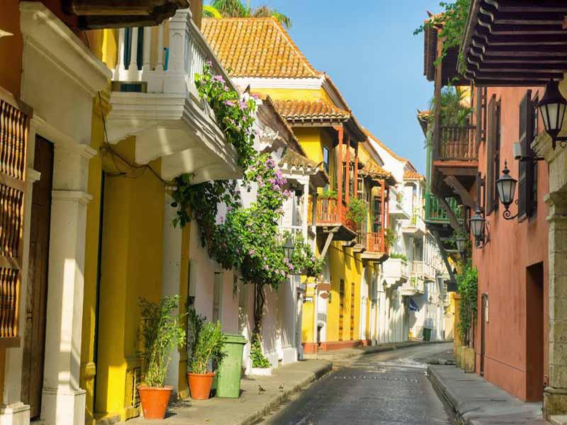 Viaje singles en Cartagena de Indias.