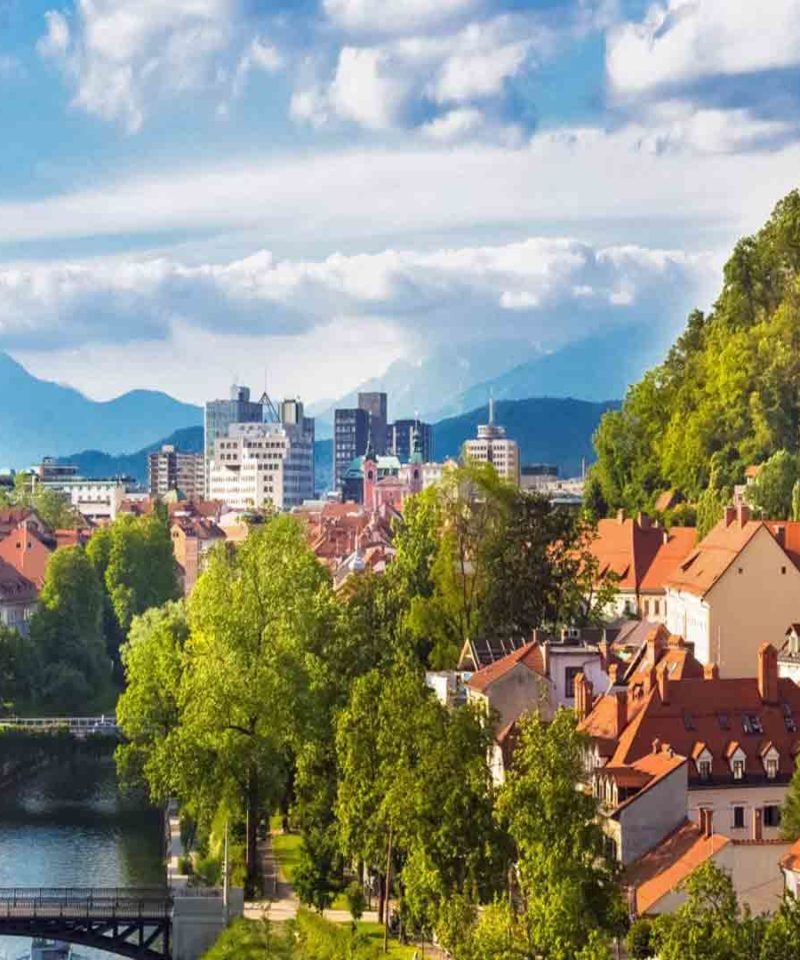 Eslovenia para singles, viajando en grupo por Europa