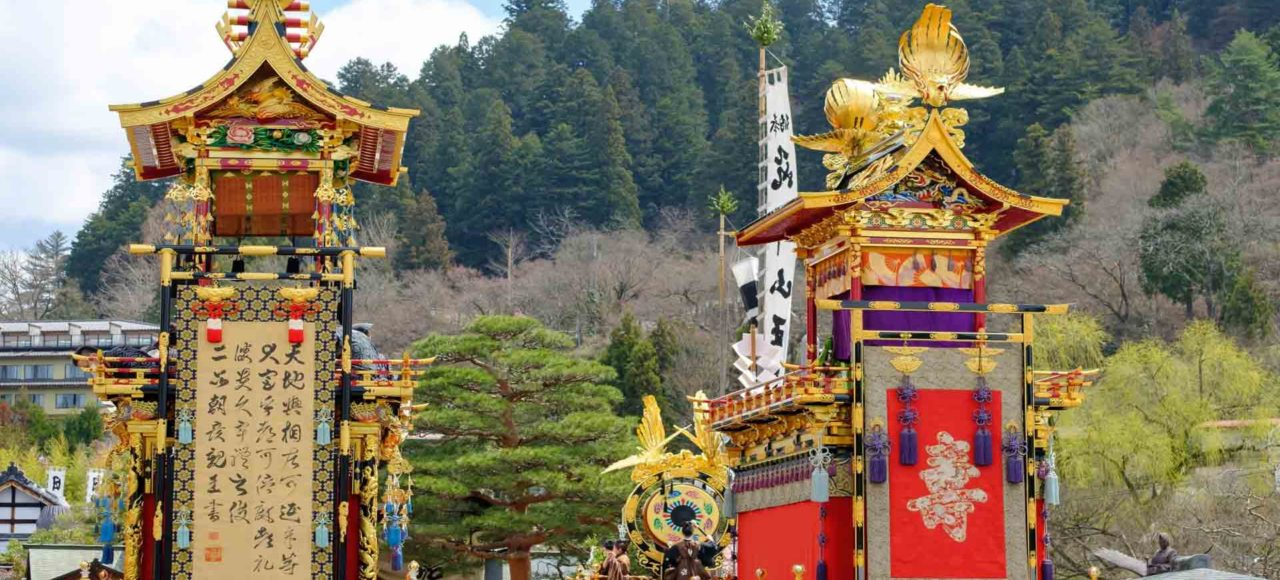Bellezas de Japon visitando Takayama