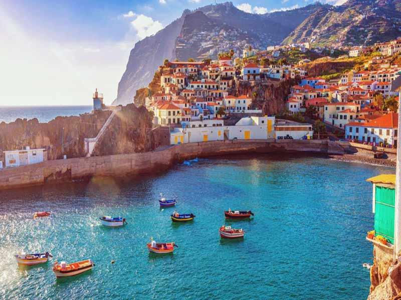De crucero visitando la isla de Madeira