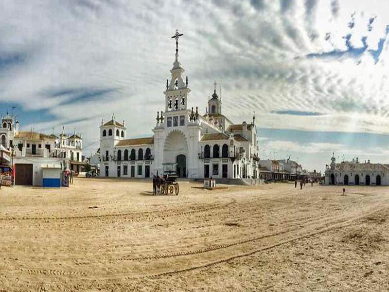 Visita del Pueblo del Rocio - Huelva