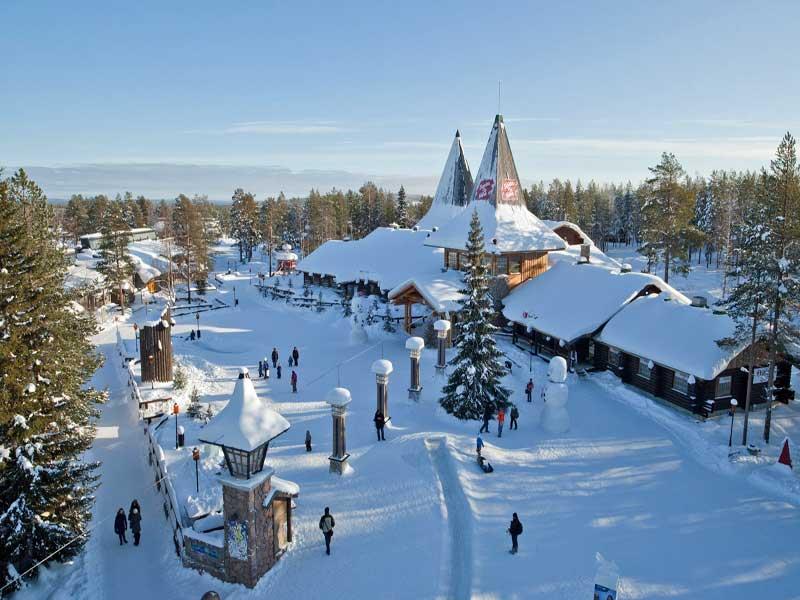 Laponia en Diciembre-Papa Noel