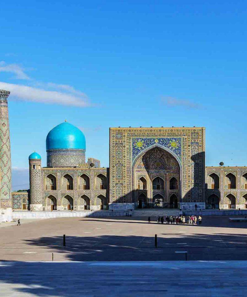 Viaje a Samarkanda en grupo de Singles