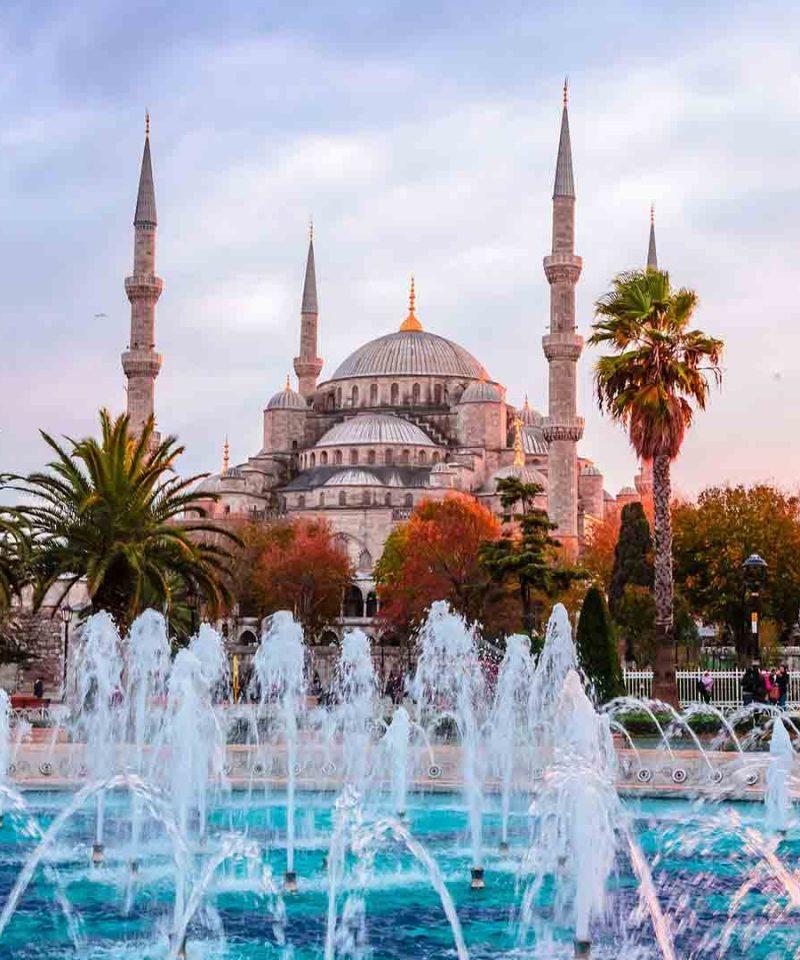 Turquia single. Mezquita Azul